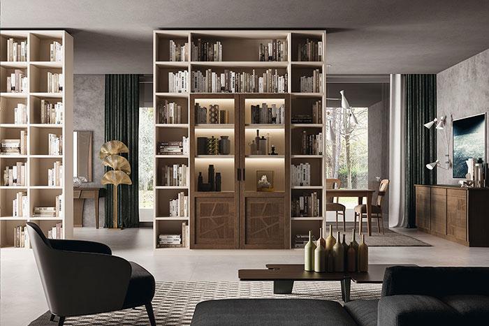 Librerie Componibili Economiche. Good Armadi X Bianco Lineare With ...