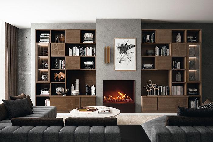 Librerie componibili moderne prodotti per la casa il for Librerie componibili moderne