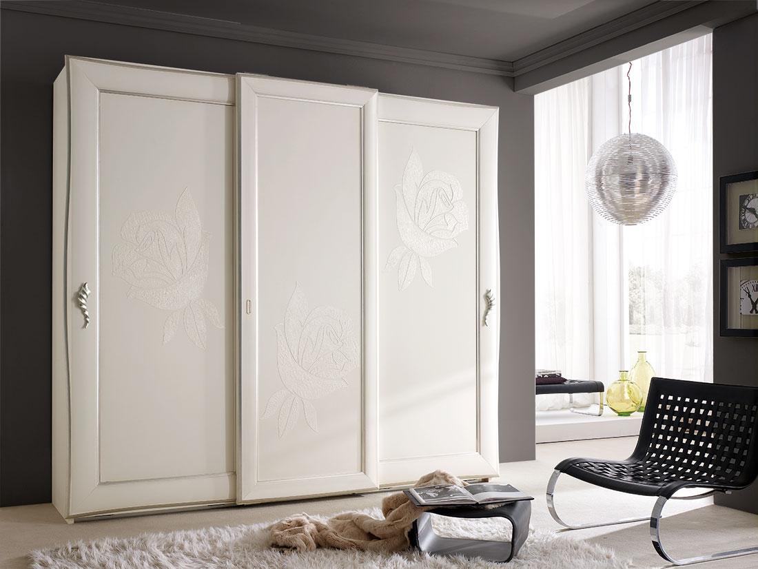 Regina di fiori camere moderne mobili contemporanei arredamenti su misura ferretti ferretti - Ikea armadio scorrevole ...